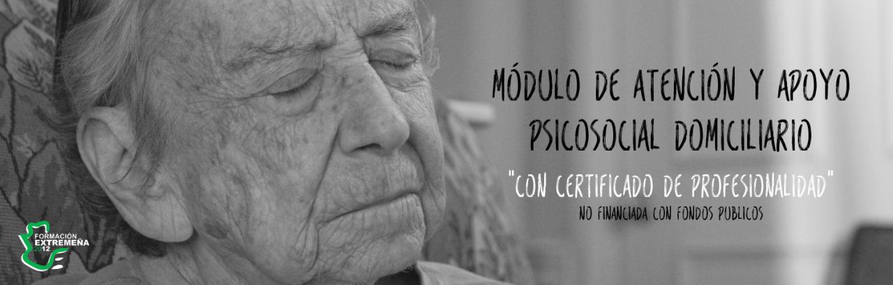 MÓDULO DE ATENCIÓN Y APOYO PSICOSOCIAL DOMICILIARIO